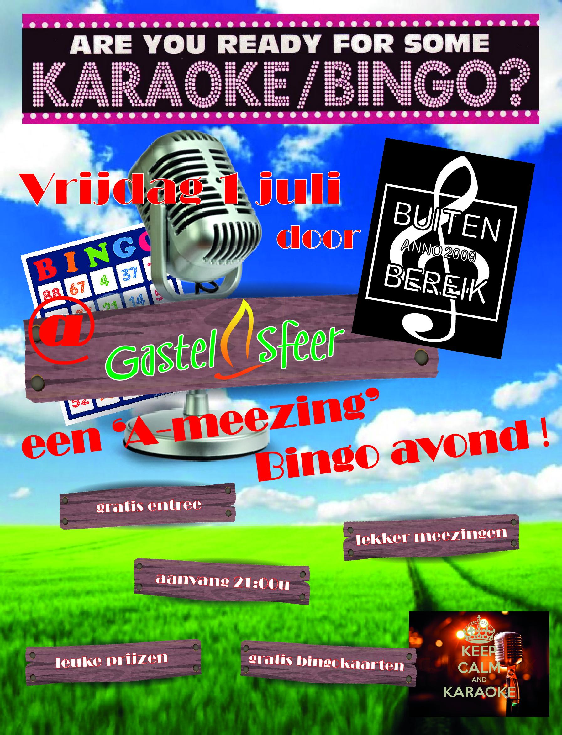Karaoke Bingo